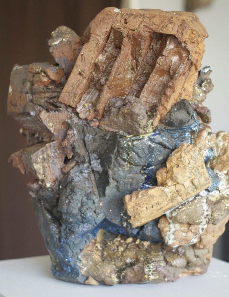 Build, Destroy, Repeat (Gneiss), ceramic