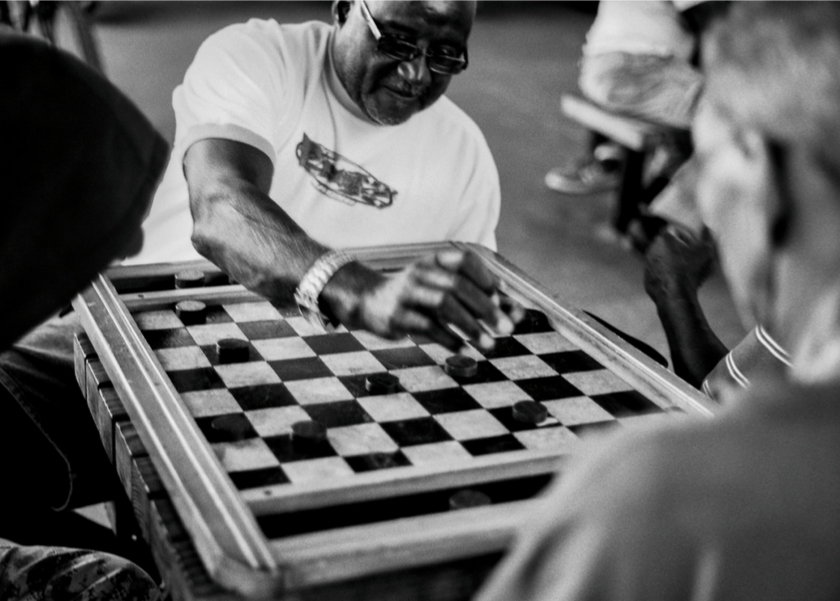 Checkers played under 408 expressway, Parramore