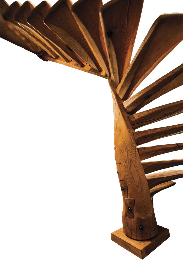 Spiral Staircase by Wharton Esherick, image provided by 3MD