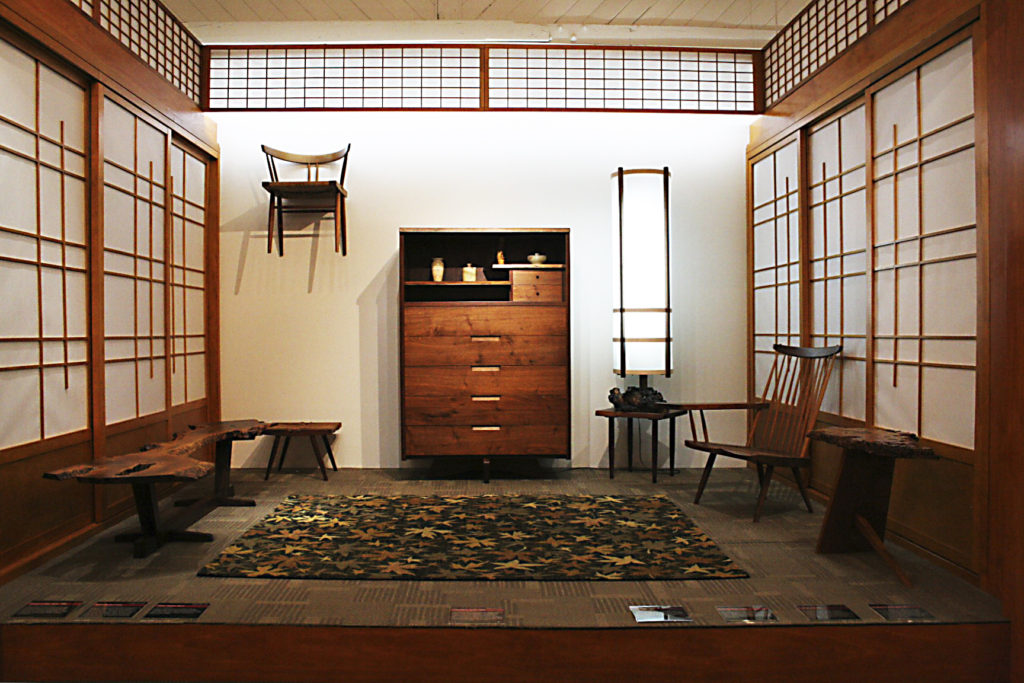 installation by George Nakashima