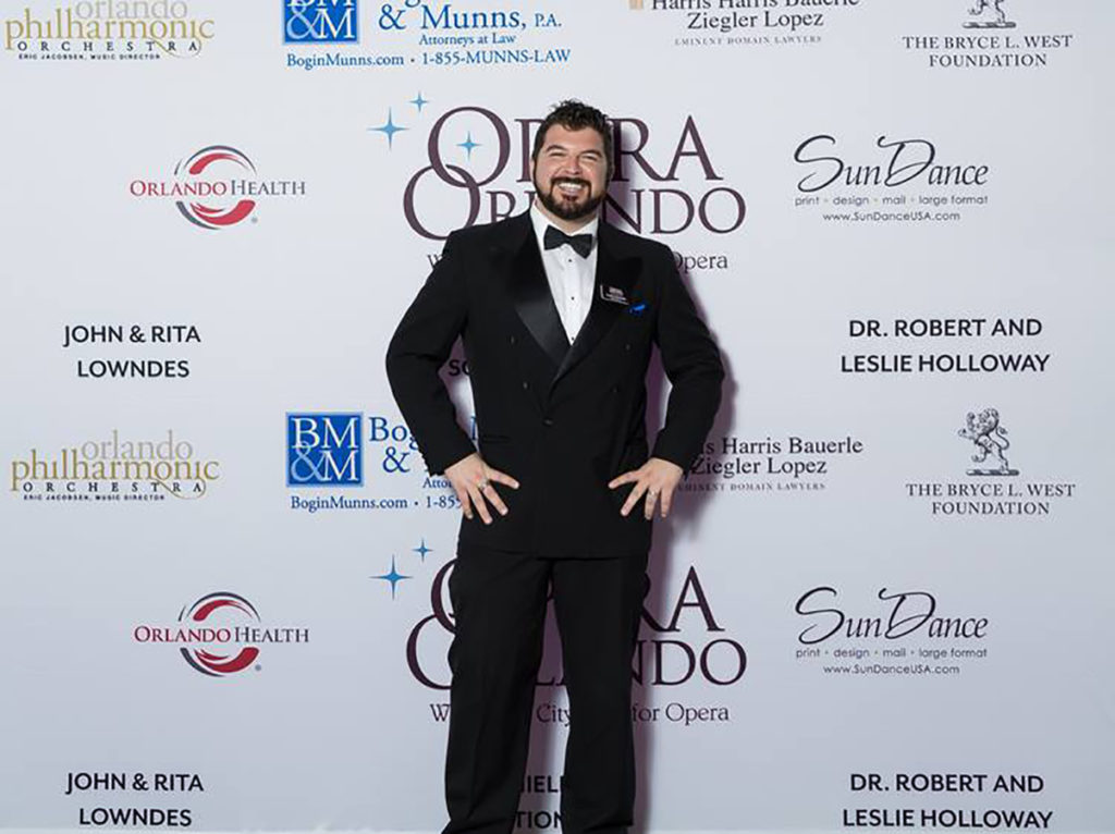 Inaugural event of Opera Orlando, photo by Kenn Stamp