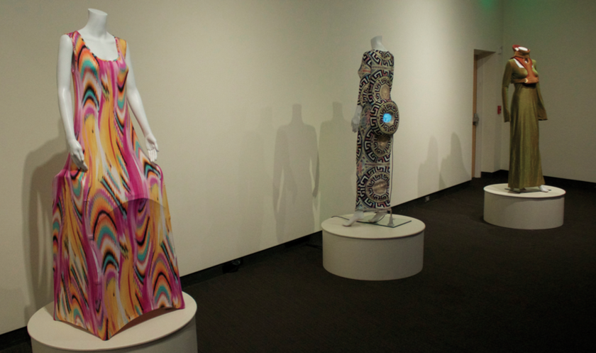 Pepto Bismol Immodium Walker Dress, Eyes Without a Face, Princess Neck Brace installation shot